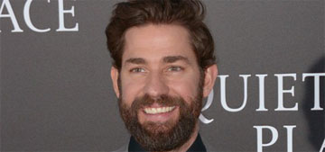 John Krasinski tried to convince a customs agent Emily Blunt was his wife