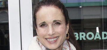 Andie Macdowell on her late alcoholic mom: 'poor thing, it's a awful disease'