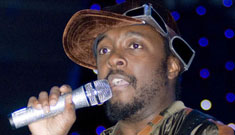 Will.i.am's thoughtful statement on Perez incident; Perez predictably sues