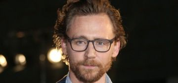 Tom Hiddleston's glorious beard & ginger curls promoted 'Avengers: Infinity War'