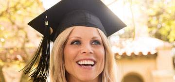 Elin Nordegren Woods is about to get her masters degree in psychology