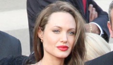 Angelina Jolie: I only wear three basic colors
