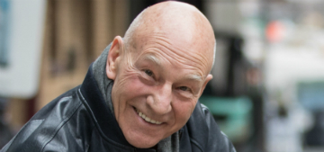 Sir Patrick Stewart helps raise awareness about dog fighting