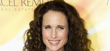 Andie Macdowell: 'From 40 to 60, we could have such better lives'