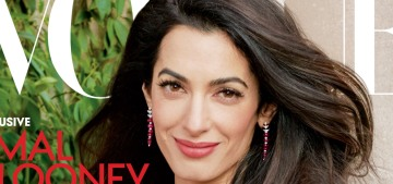 Amal Clooney covers Vogue, talks about falling for George & having babies