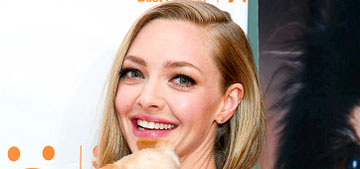 Amanda Seyfried calls her dog Finn 'my son, my firstborn… A dog has feelings too'