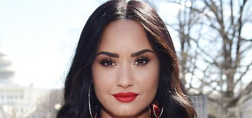 Demi Lovato on her drink that was photoshopped out: 'It was Red Bull'