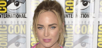 Caity Lotz: 'I used to get called a boy & made fun of for being so muscular'
