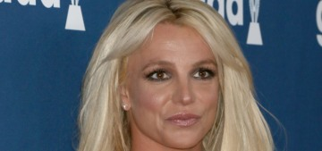 Britney Spears in a Giannina Azar dress at the GLAAD Awards: cute or nope?