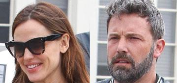 People: Ben Affleck and Jennifer Garner one year after filing for divorce