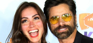 John Stamos & Caitlin McHugh welcomed son Billy Stamos this weekend