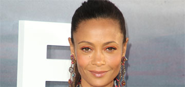 Thandie Newton in Osman at the Westworld premiere: cute or ridiculous?