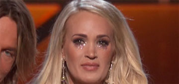 Carrie Underwood 'was terrified of people seeing the scars' at the ACM Awards