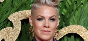 Pink is People Magazine's Most Beautiful Woman in the World for 2018