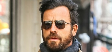 Is Justin Theroux's edgy new girlfriend a 26-year-old lady he met at the gym?