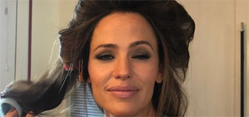Jennifer Garner celebrated her 46th birthday with a meme of herself and a giant scarf
