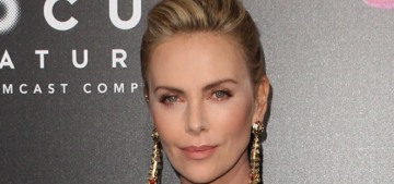 Charlize Theron would wake up at 2 am to eat mac & cheese to gain 50 lbs