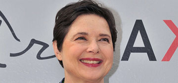 Isabella Rossellini: 'When you're old, you have the courage to say what you want'