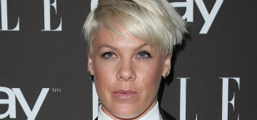 Pink tells her six year-old daughter 'sometimes girls aren't paid as much as boys'