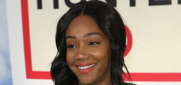 Tiffany Haddish calls out TMZ paparazzo for not helping with her bags at the airport