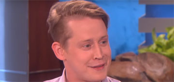 Macaulay Culkin: 'I still have the same face, it's a curse and a blessing'