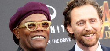 Tom Hiddleston & Samuel L. Jackson are the Avengers couple we can get behind