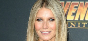 Gwyneth Paltrow in Retrofete at the 'Infinity War' premiere: actually really good?