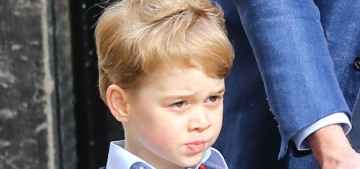 Prince George & Princess Charlotte 'were very excited to meet' their baby brother