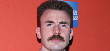 Chris Evans woke up on his neighbor's lawn after the prom