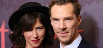 Benedict Cumberbatch, Sophie Hunter & a hat premiere 'Patrick Melrose'