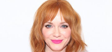 Christina Hendricks: 'gay men are very kind to me, I appreciate the enthusiasm'