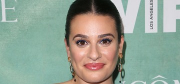 Lea Michele is engaged to Zandy Reich, her ring is a 4-carat radiant-cut diamond