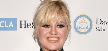 Kelly Clarkson got a haircut and went blonder: bang up or blah?