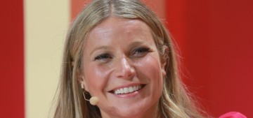 """Is there a reason why Gwyneth Paltrow has been wearing sack dresses?"" links"