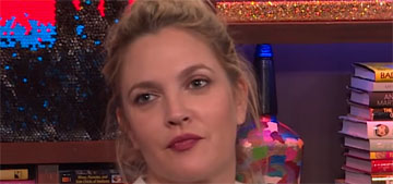 L&S: Drew Barrymore's friends want her to go to rehab 'before she crashes & burns'