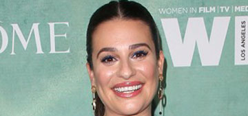 Lea Michele Facetimed friends with engagement news and shared screenshots