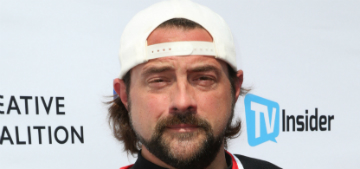 Kevin Smith's doctor said that smoking pot before his heart attack saved his life
