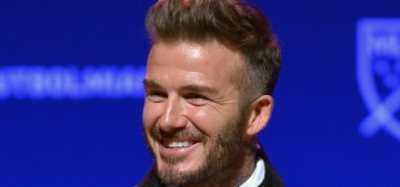 David Beckham cried happy tears when Brooklyn surprised him for his birthday
