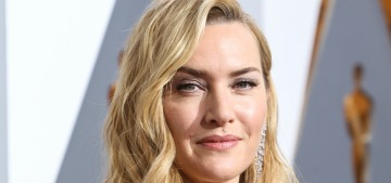 Kate Winslet is 'sort of uncomfortable' when women wear 'show-off clothes'