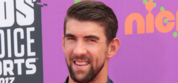 Michael Phelps and his adorable family are doing Huggies commercials