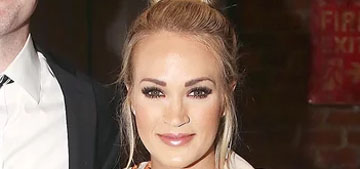 Star: Carrie Underwood didn't say why her husband was away during her accident