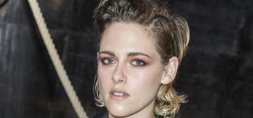 Kristen Stewart made a sullen appearance at the Chanel Cruise show in Paris