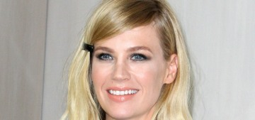 January Jones wanted to have her b-day party at Pump, but they wouldn't call her back