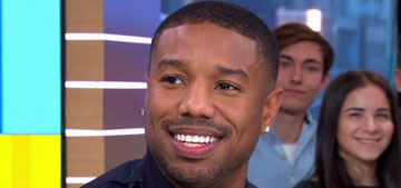 Micheal B Jordan met up with a fan who offered to buy him a smoothie