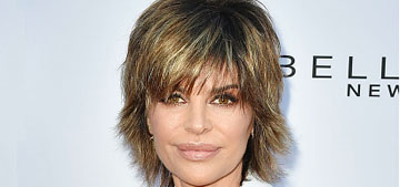 Lisa Rinna's diet & workout: she's a 'dirty vegan' who is 'real consistent'
