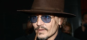 Johnny Depp drunkenly assaulted a location manager on the 'LAbyrinth' set