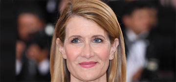 Laura Dern in black and white Proenza Schouler at the Met Gala: fresh or boring?