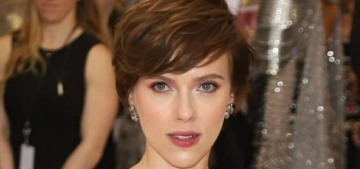Scarlett Johansson wore Marchesa to the Met Gala to 'support…two female designers'