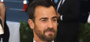 Something fishy (and edgy) is happening between Justin Theroux & Emma Stone