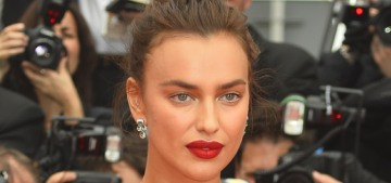 Irina Shayk in Twinset & Chopard jewels in Cannes: stunning or rumpled?